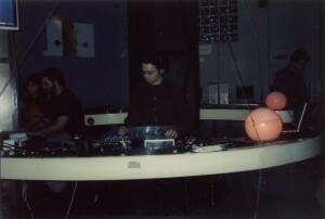 Adel Karanov DJ performance in Linux club Rome
