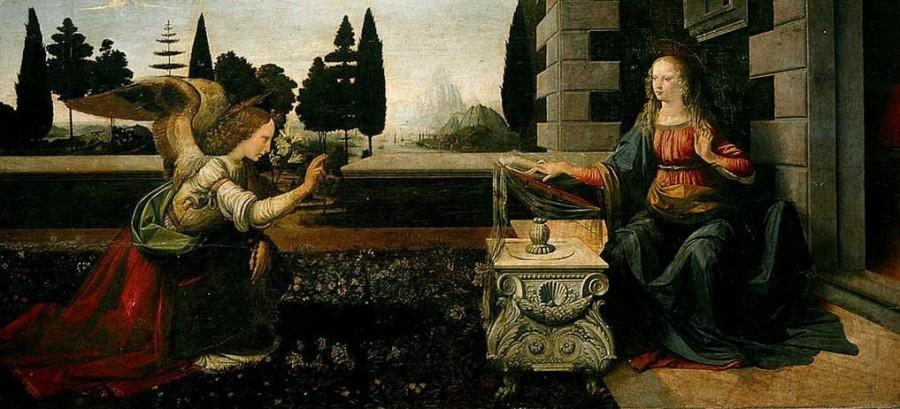 Annunciazione Leonardo