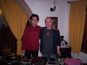 DJ Alex Alessandro Borzi and Adel Karanov