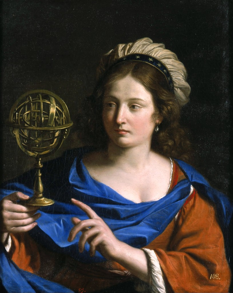 Guercino-Personification of Astrology-circa_1650-1655