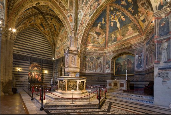 Baptistery - Siena car tour