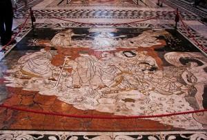 Pavment - Duomo di Siena - car tour Siena