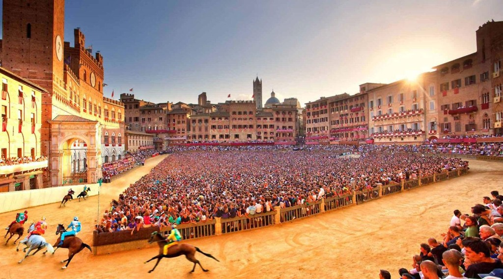 siena private daily tour - palio