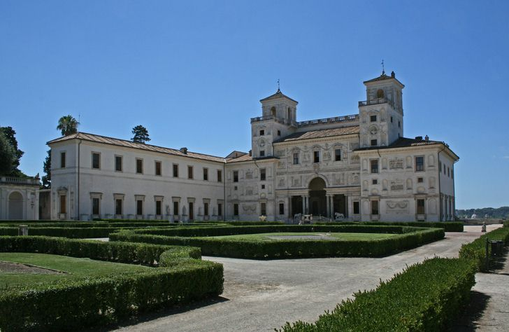 villa medici - rome car excursion