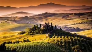 тоскана панорама - гид на български рим тоскана