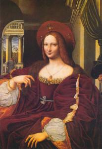 Isabella_di_Aragona_as_Mona_Lisa Raffaello