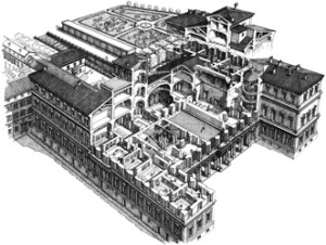 Palazzo Barberini Plan