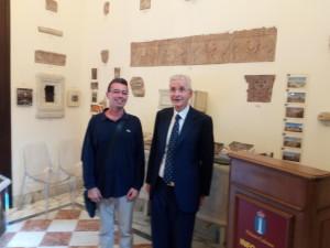 Principe Prospero Colonna e Adel Karanov