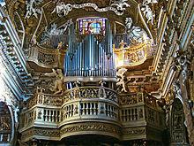 organ santa maria della vittoria