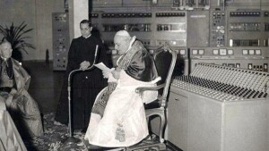 Historical picture of the vatican radio