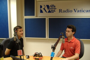 Dimitar Ganchev - Adel Karanov - radio vaticana - Vatican tour