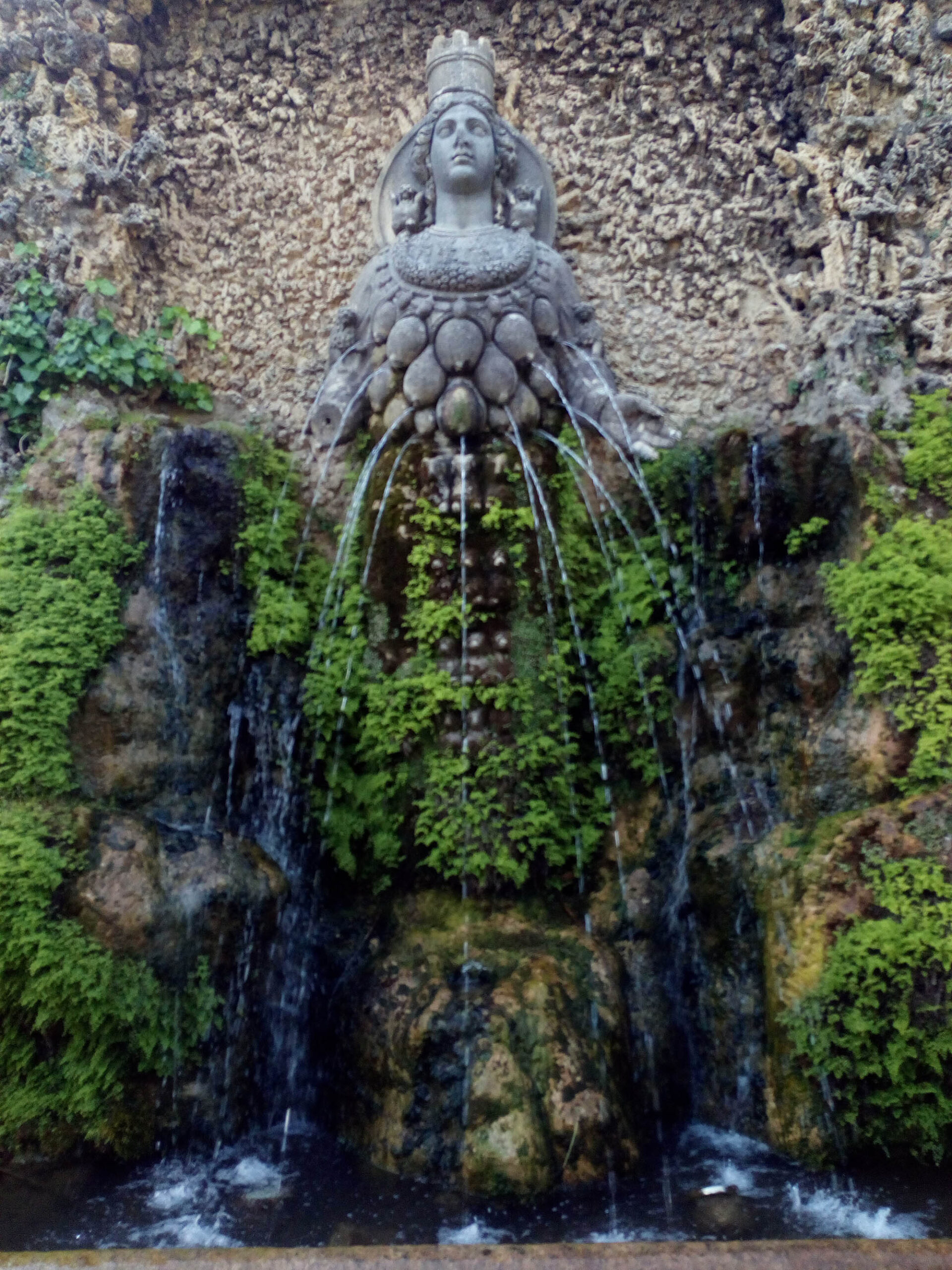 Вила д Есте - Фонтанова градина - Тиволи