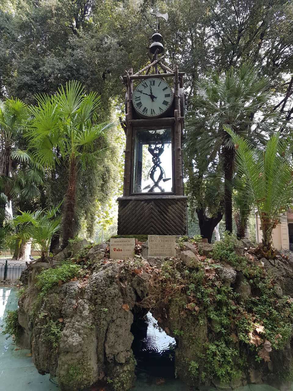 Воден часовник - Вила Боргесе - Рим - Италия