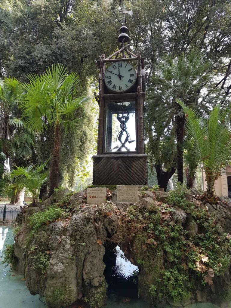 Водяные часы - Вилла Боргезе - Рим - Италия