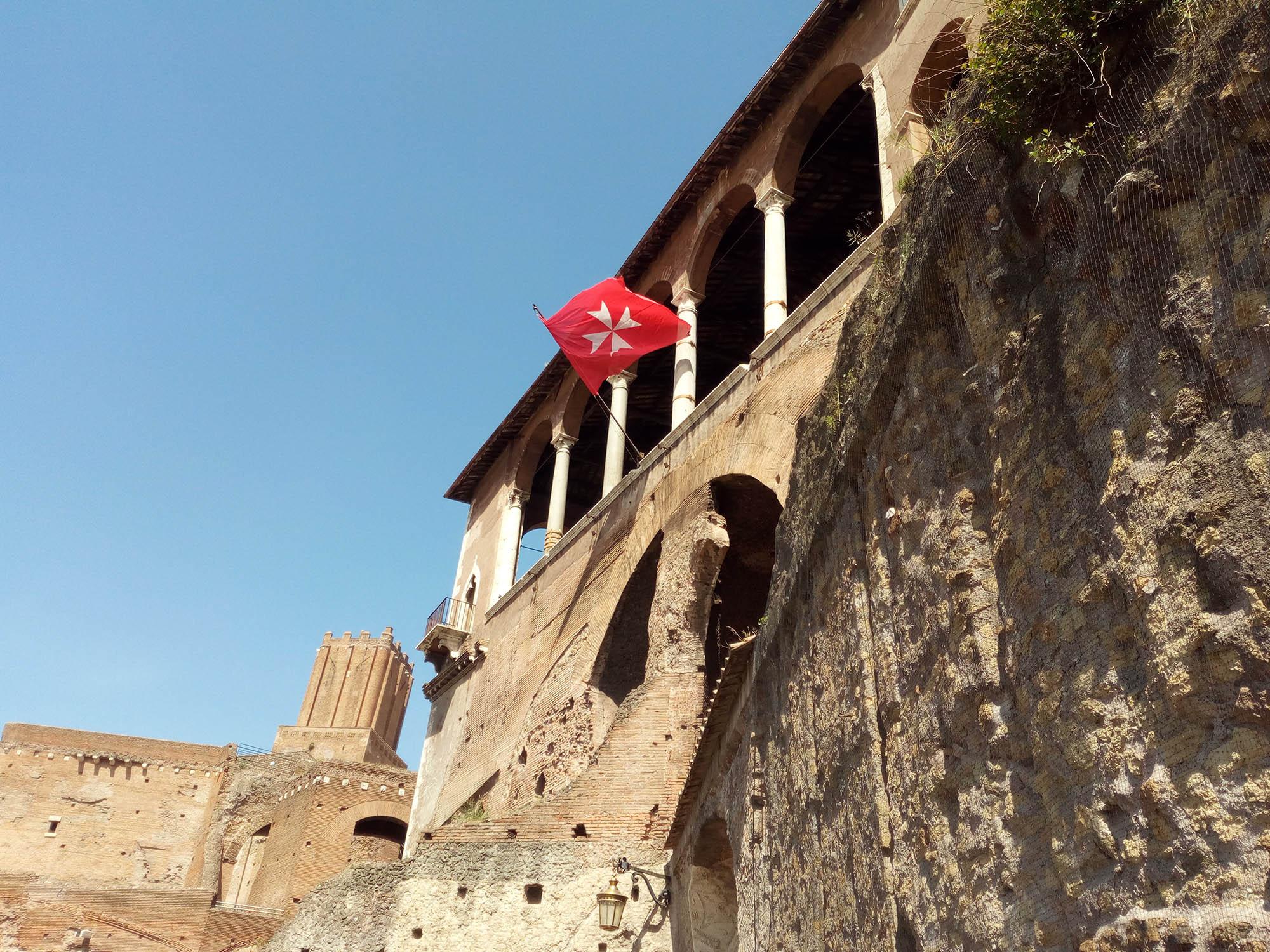 Военный Мальтийский орден на Римском форуме
