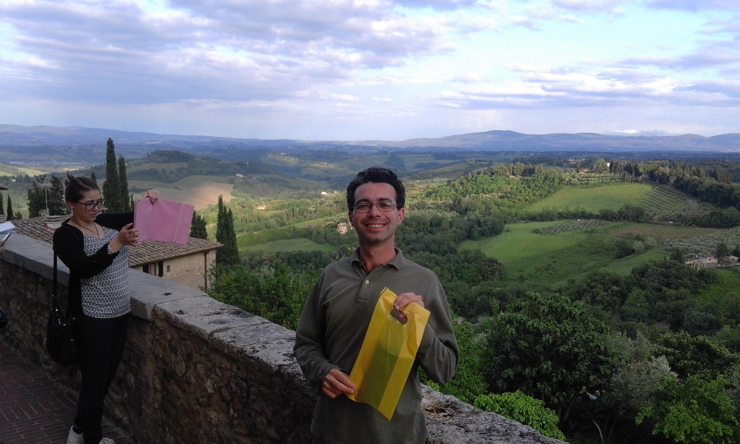 Екскурзовод в Тоскана - Сан Джиминяно