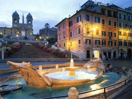 Площад Испания - Рим
