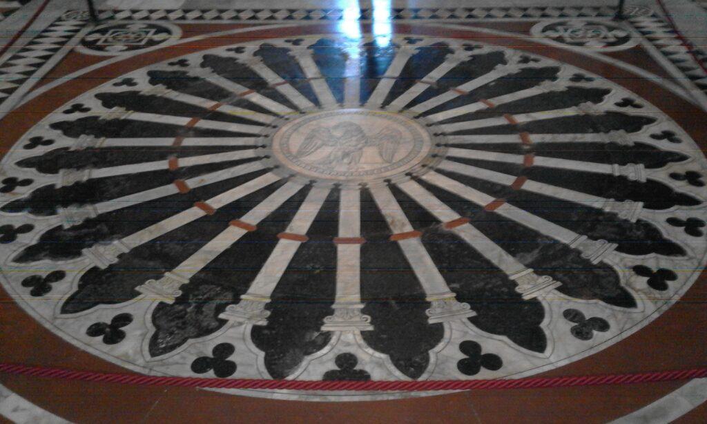 Пол Сиенского собора - Тоскана