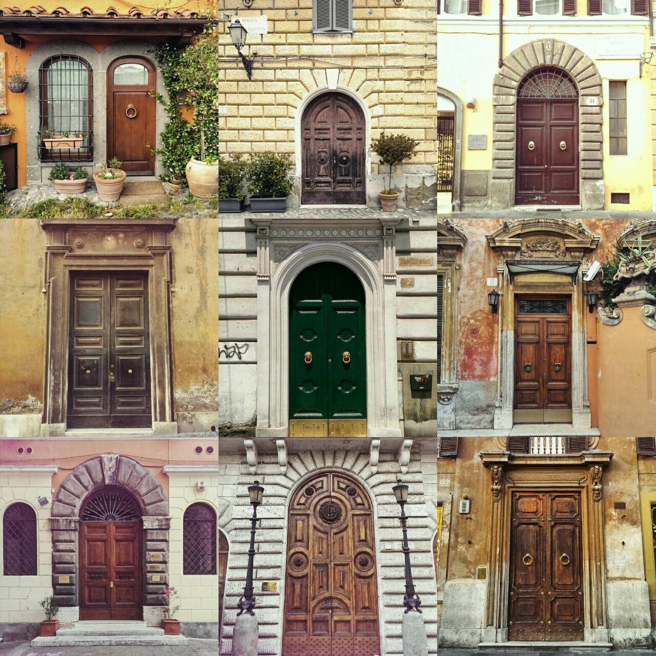 Римские двери - Гид в Риме