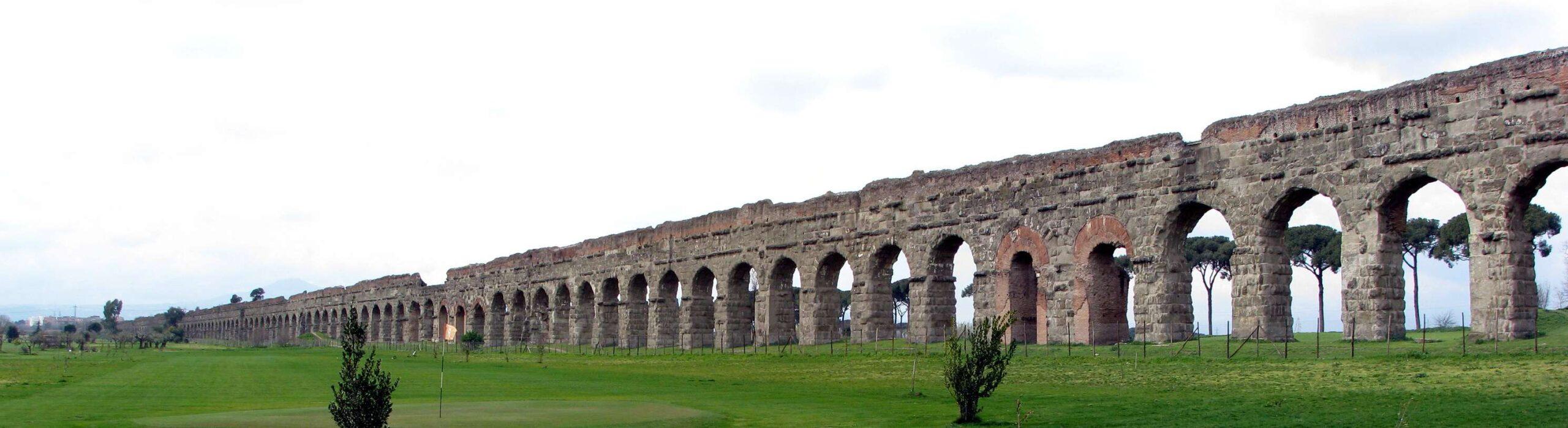 Римски Акведукт Апия - Екскурзия в Рим