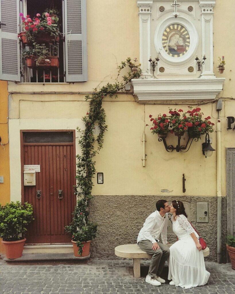 Романтическое путешествие Рим