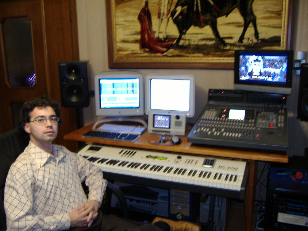 Adel Karanov - Music studio