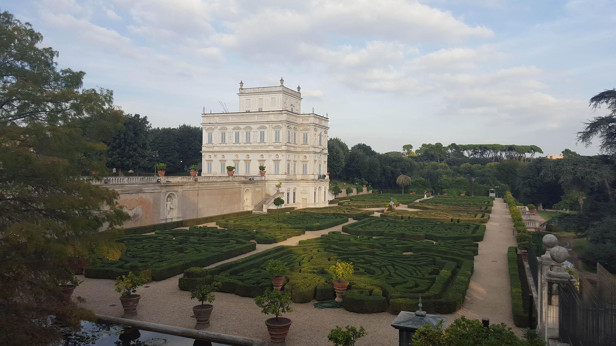 Villa Doria Panphilii - Rome car tour