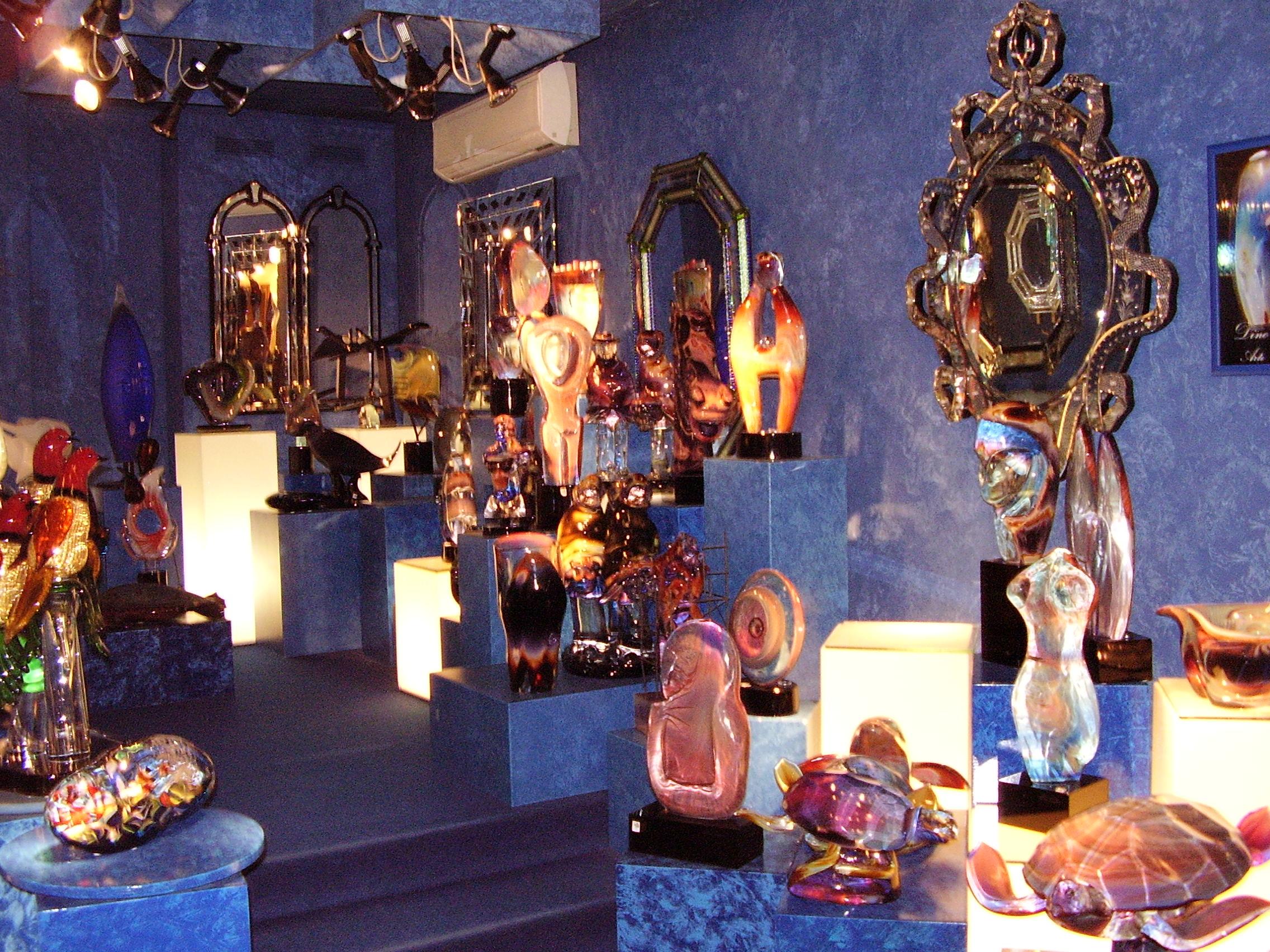 Галеря за стъклени предмети в Мурано - Венеция