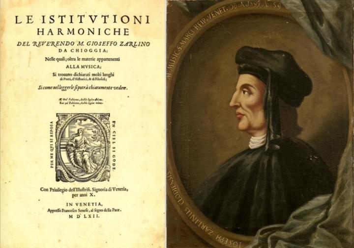 Джозеф Зарлино - Отец гармонии - 1562 Венецианская музыкальная школа