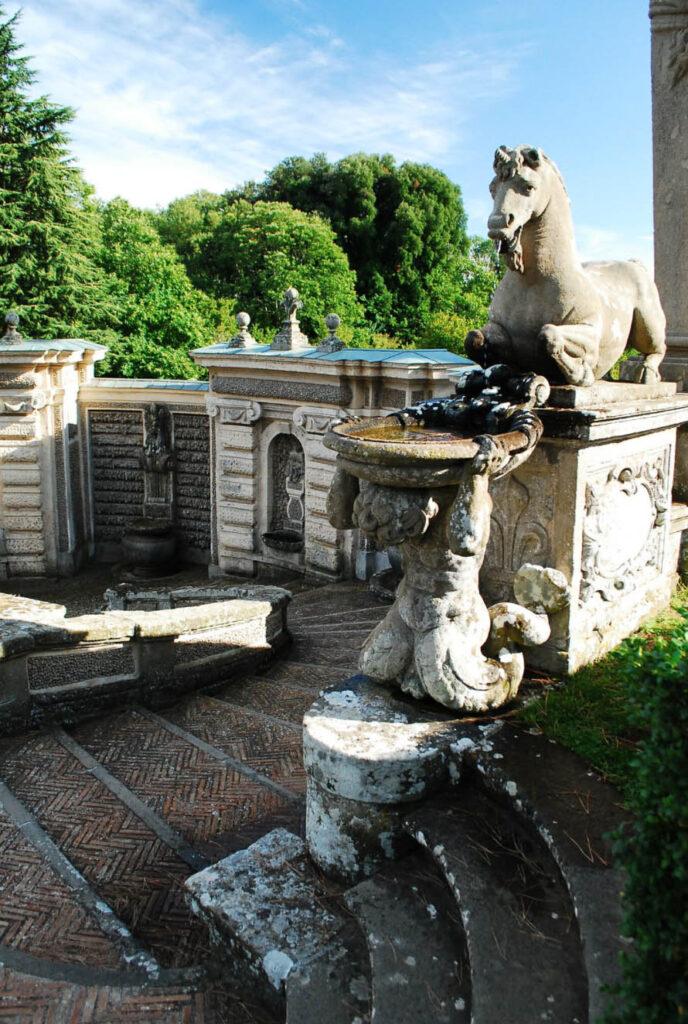 Замок Палаццо Фарнезе - Капрарола - Лацио