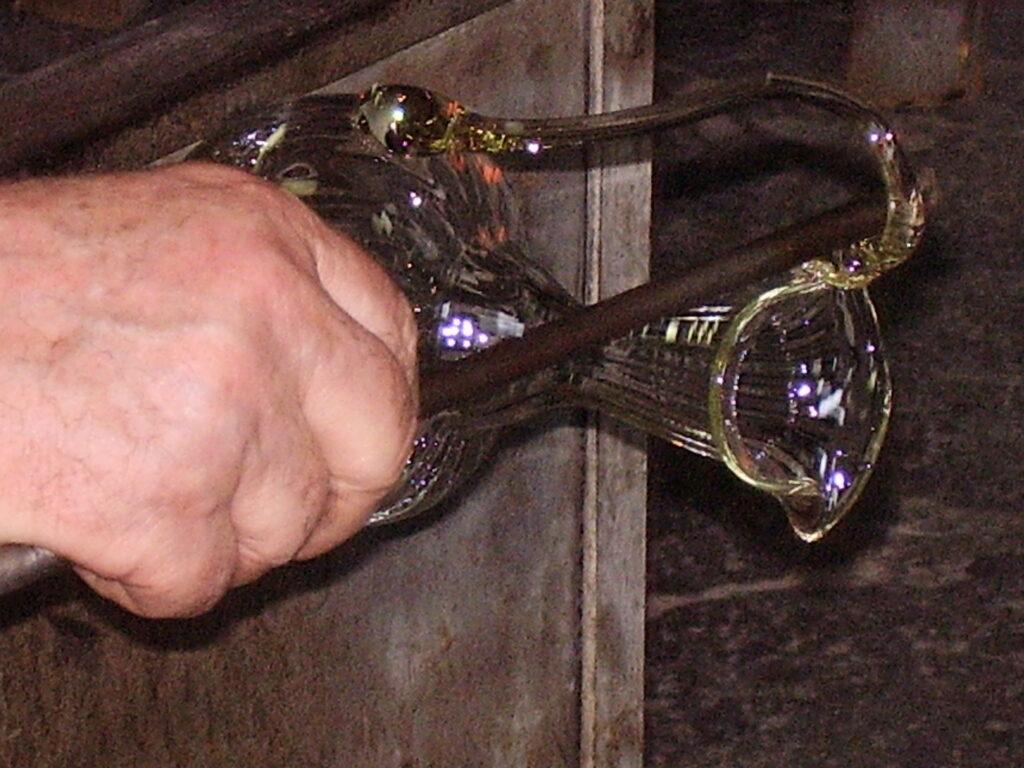 Лаборатория муранского стекла - моделирование, формование, охлаждение, обогрев и обдув - частный тур по Венеции