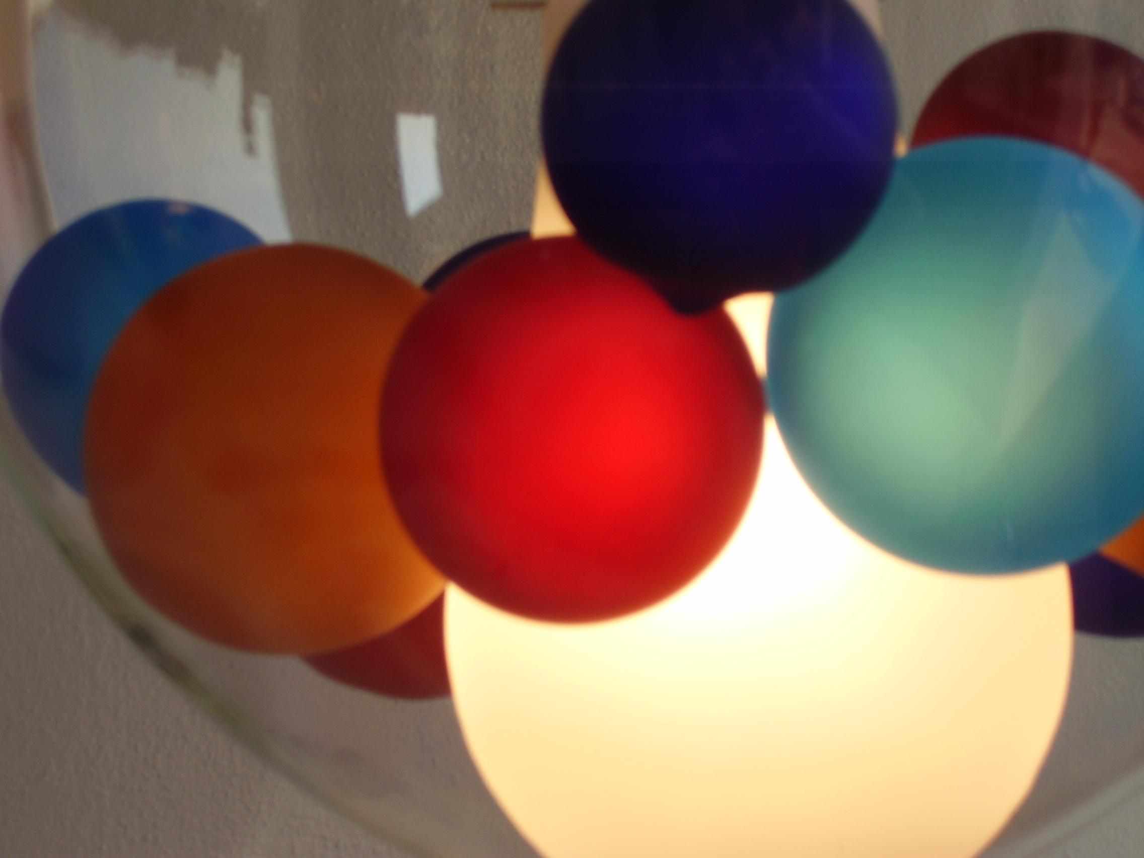 Лампа Стъклени топки - Мурано - Венето - Венеция
