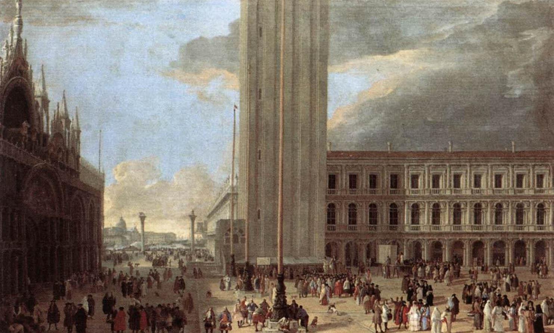 Лука Карлеварийс - Площадь Сан-Марко с жонглерами - частные экскурсии по Италии