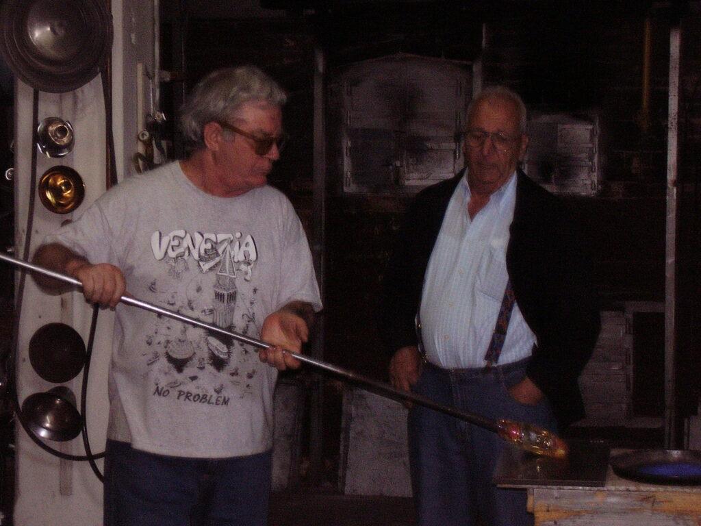 Мастер-стеклодув в Венеции - фабрика ручной работы от начала до конца