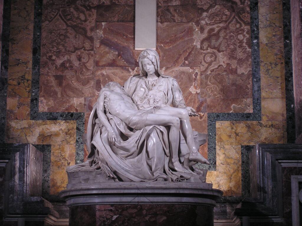 Пьета - Милосердие Микеланджело - Ватикан