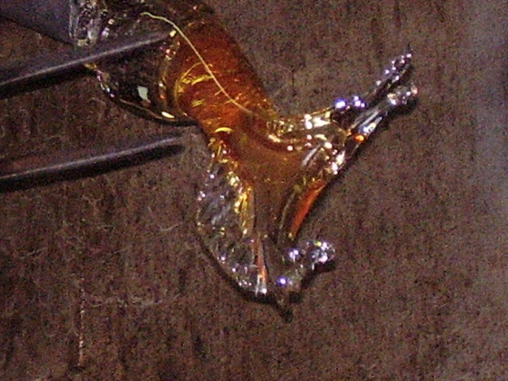 Стеклянная лошадь - Лаборатория фабрики муранского стекла