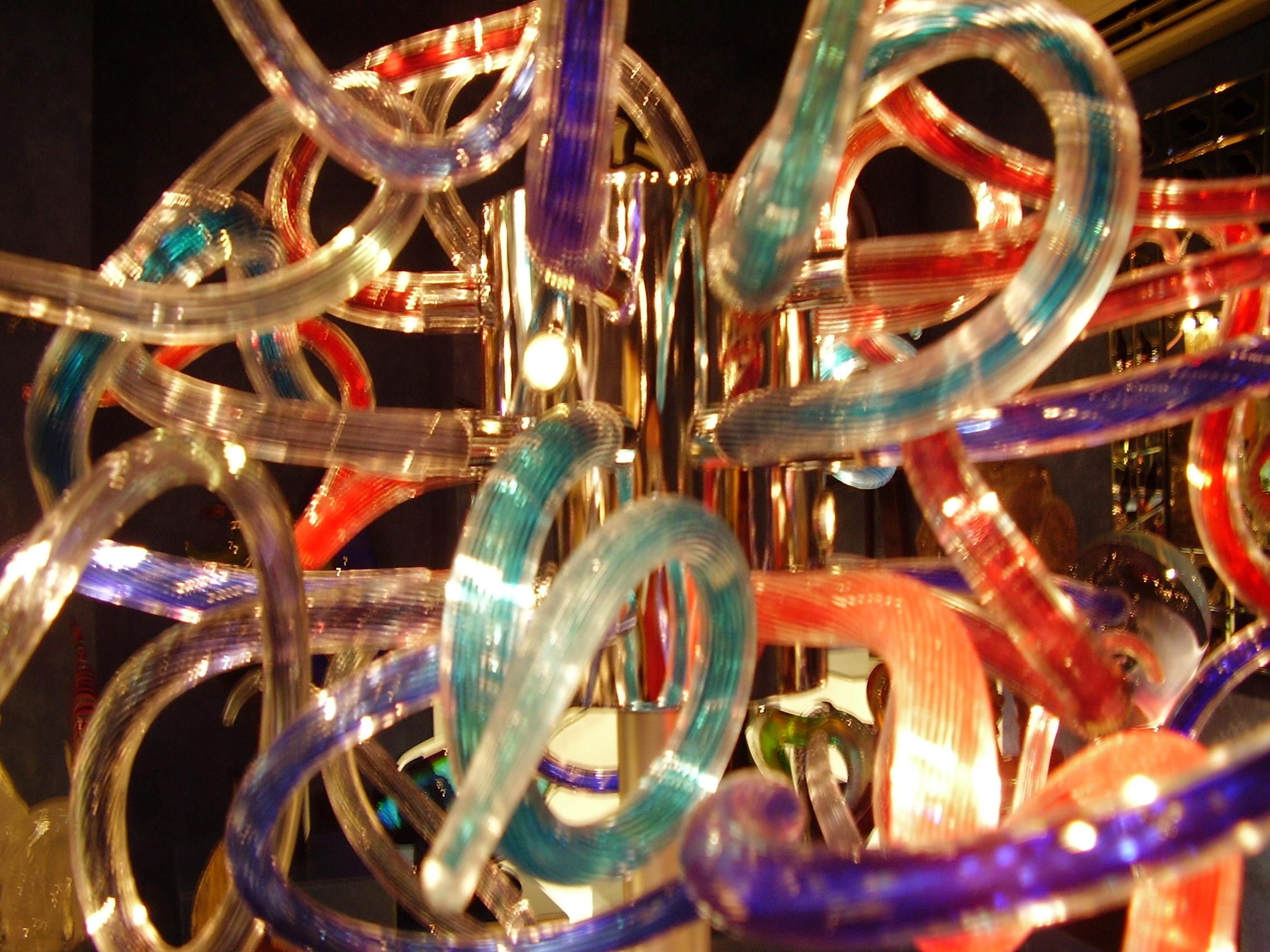 Стъклена лампа Мурано - Екскурзия във Венеция