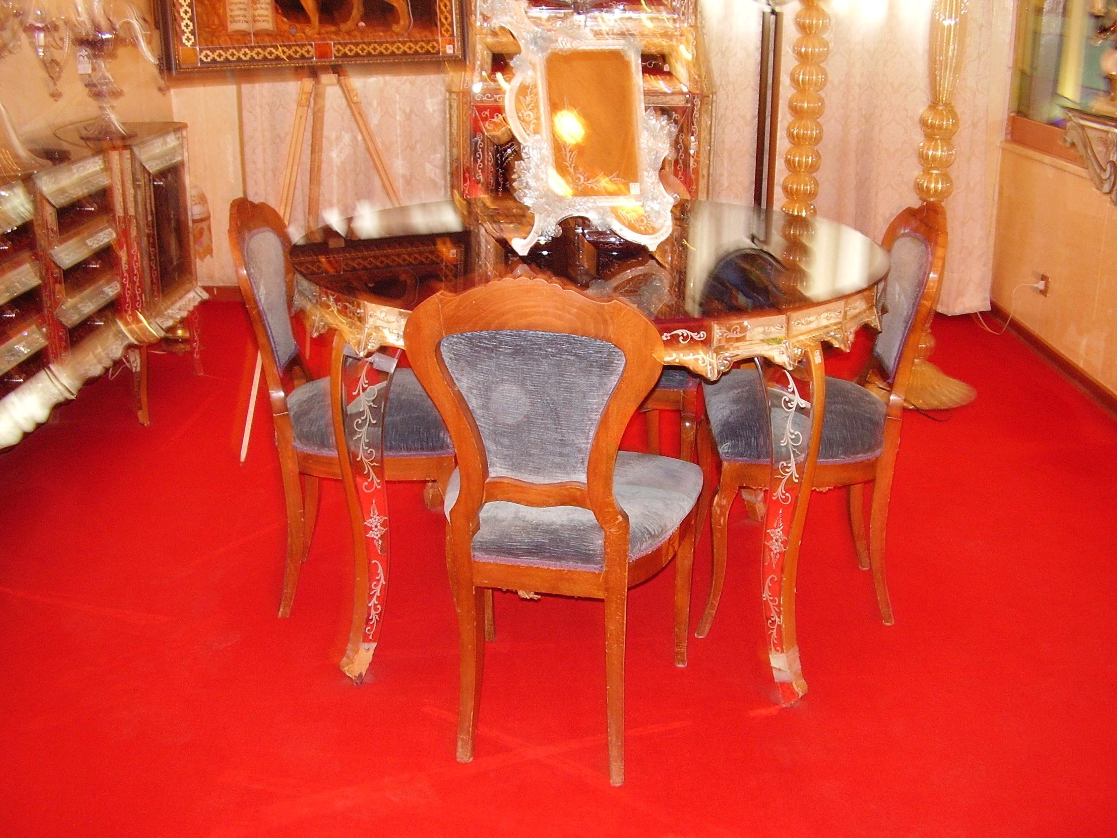 Стъклени мебели Мурано - Венеция - Италия