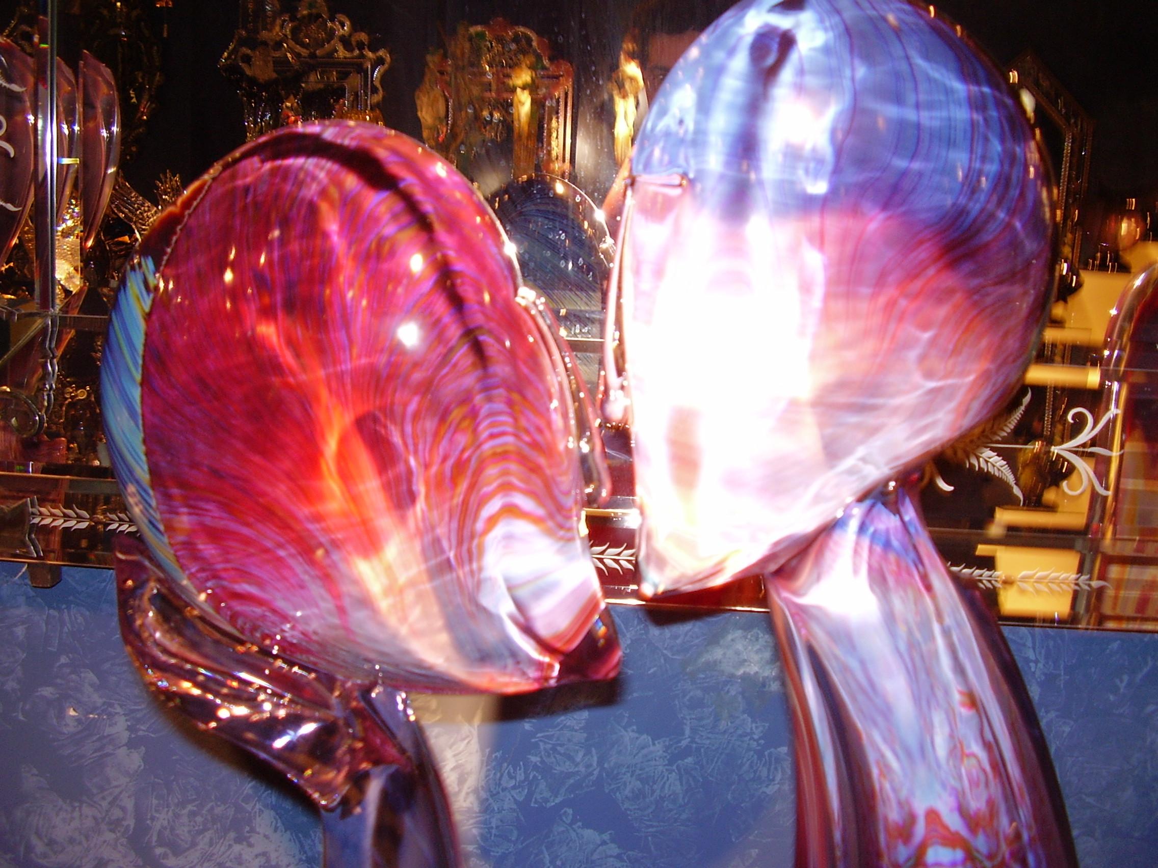 Стъклени склуптури - съвременно изкуство - Венето - Венеция - Мурано