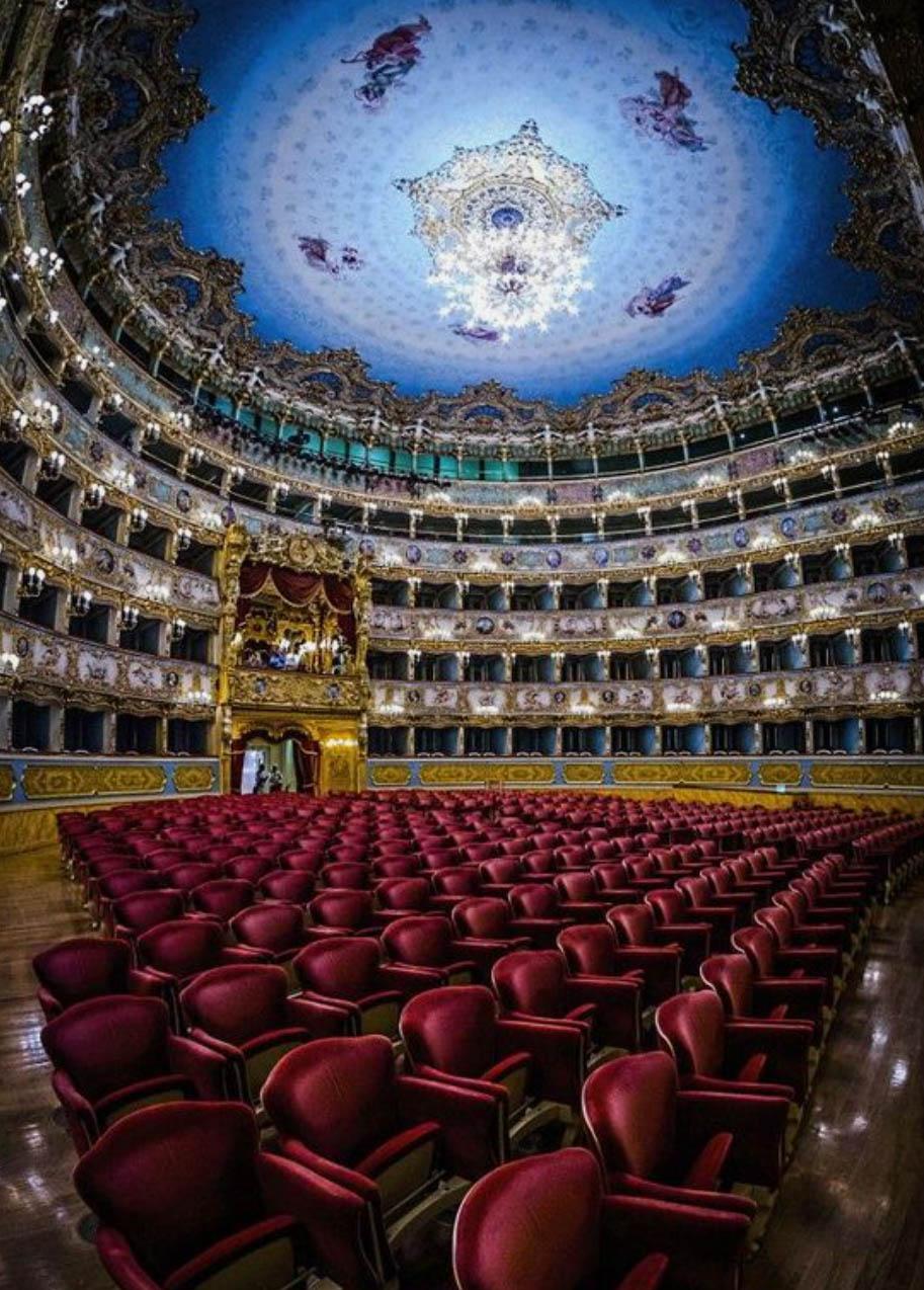 Театро ла Фениче ди Венеция - Венецианска опера - частен екскурзовод в Италия