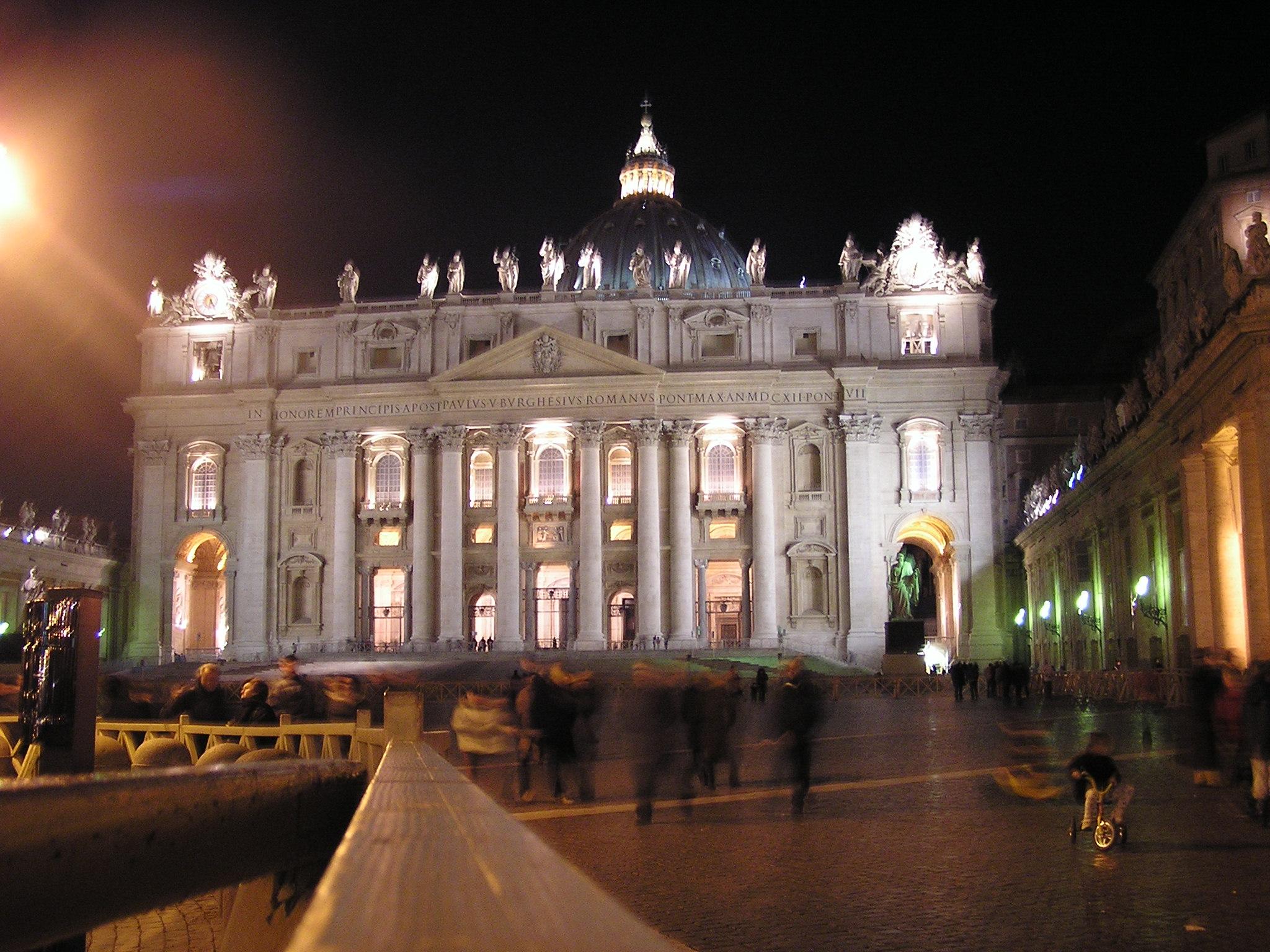 Cathédrale Saint-Pierre - excursion au Vatican
