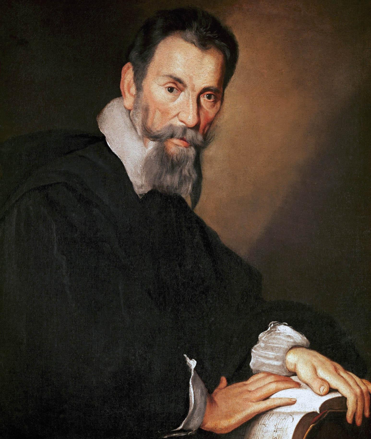Claudio Monteverdi de Bernardo Strozzi -1640 - Ecole de musique vénitienne