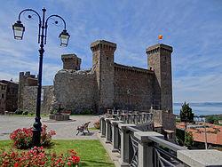 Forteresse de Bolsena - Latium - Excursion en Italie