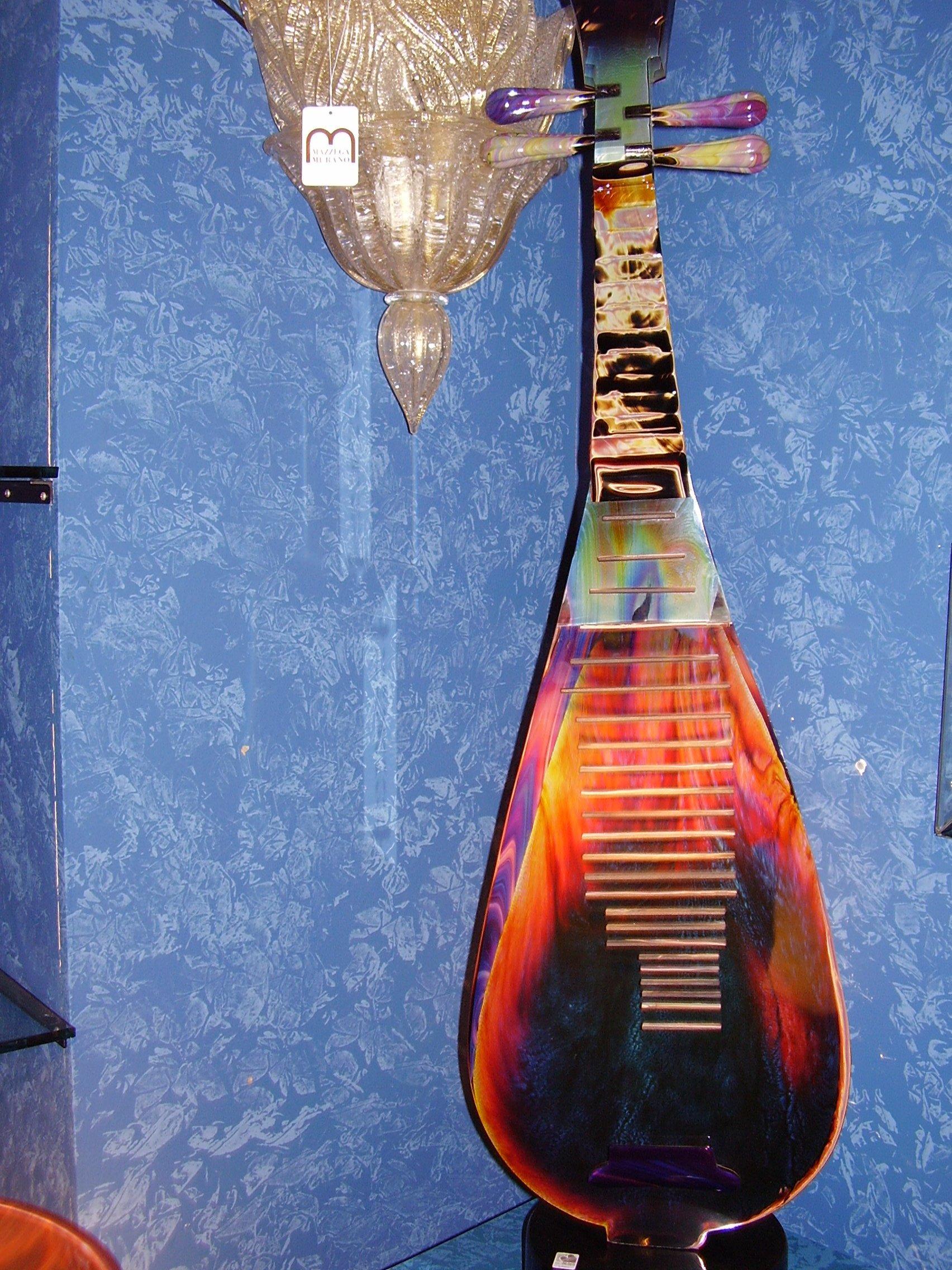 Glass music instrument - Murano - Italy