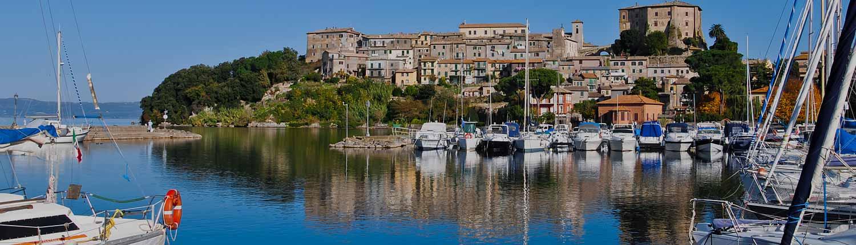 Lac de Bolsena - Excursions VIP en Italie