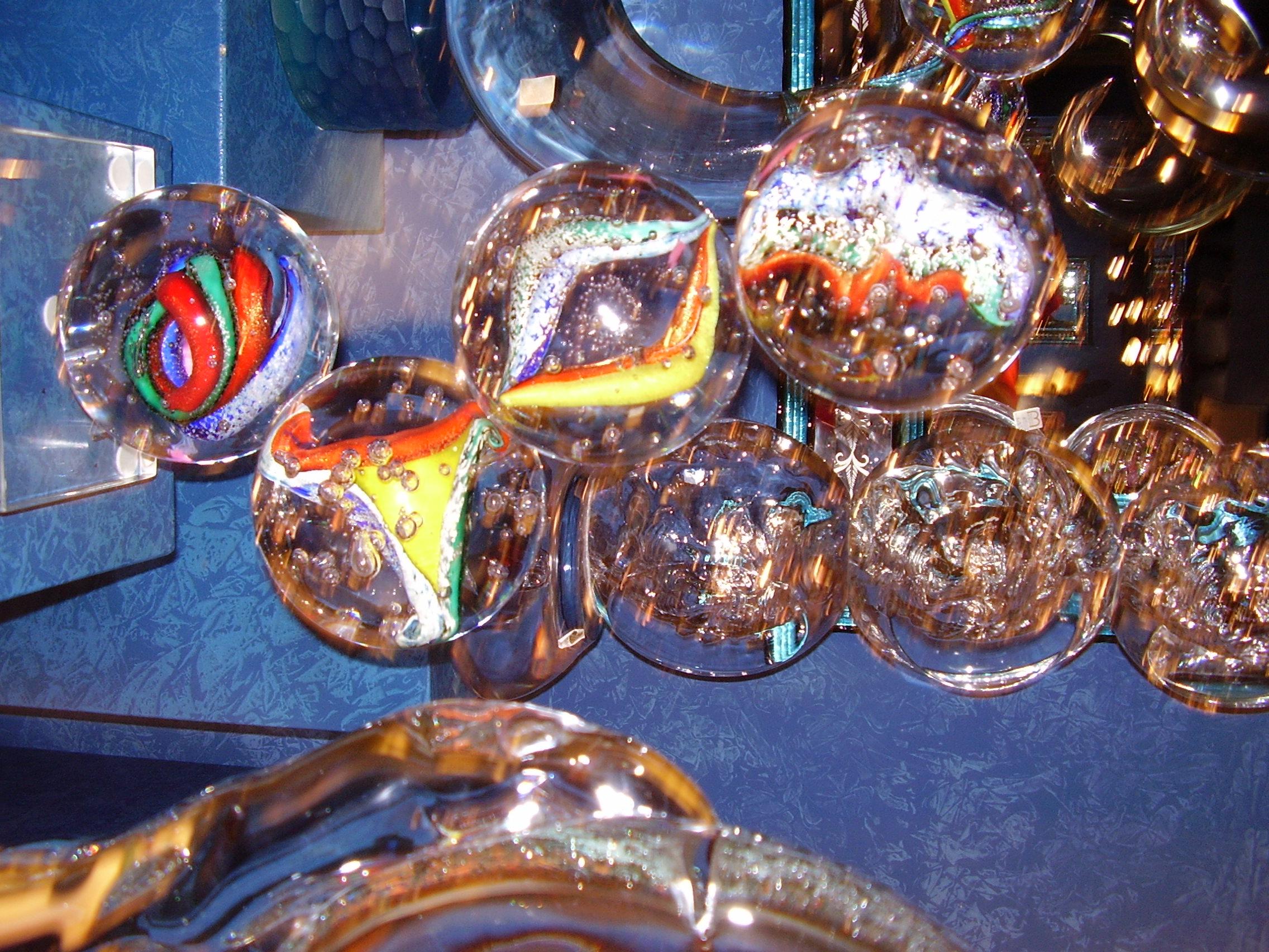 Lampe en verre de Murano - Visite privée de Venise