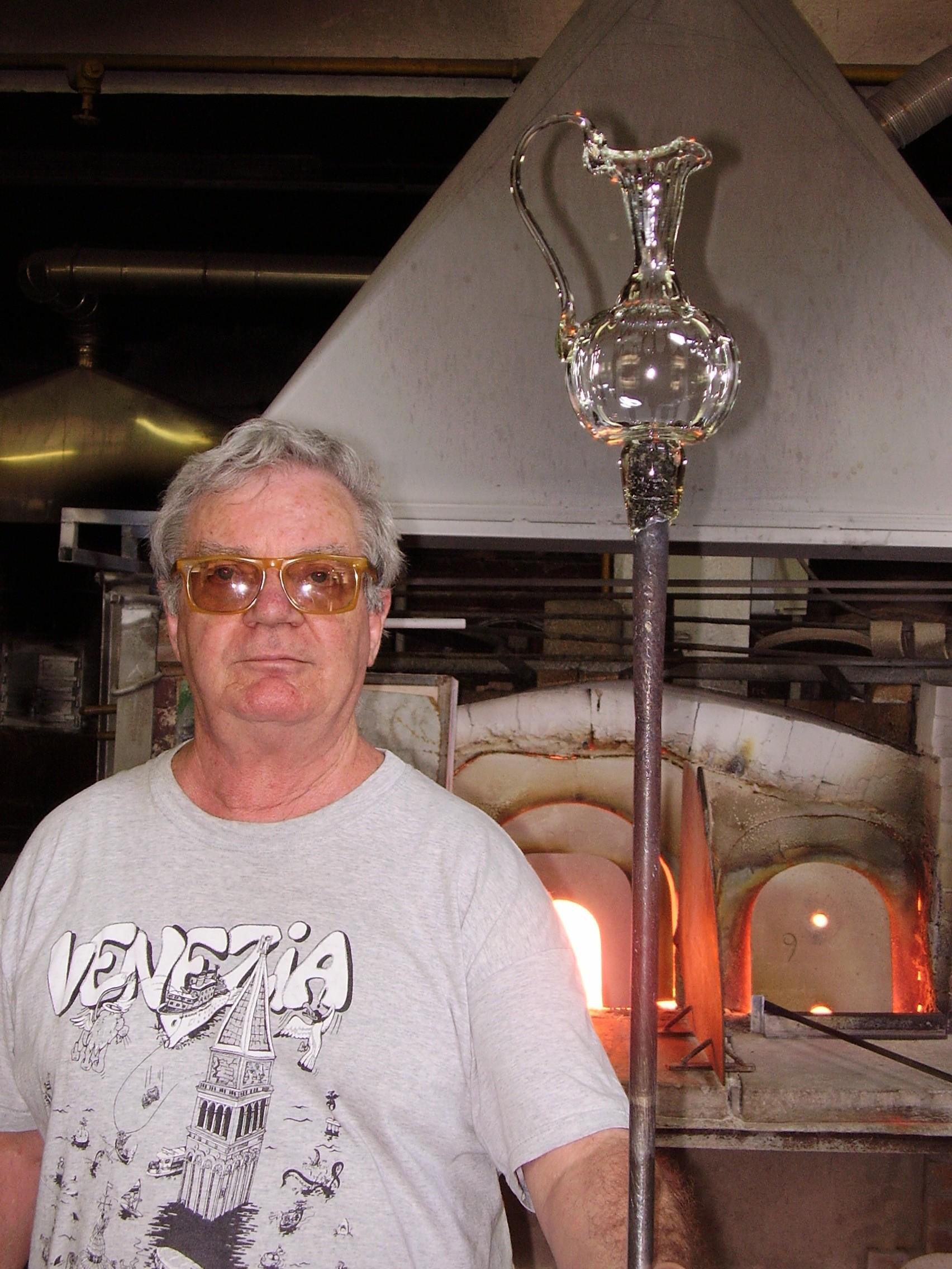 Maître verrier à Murano - Venise avec un guide
