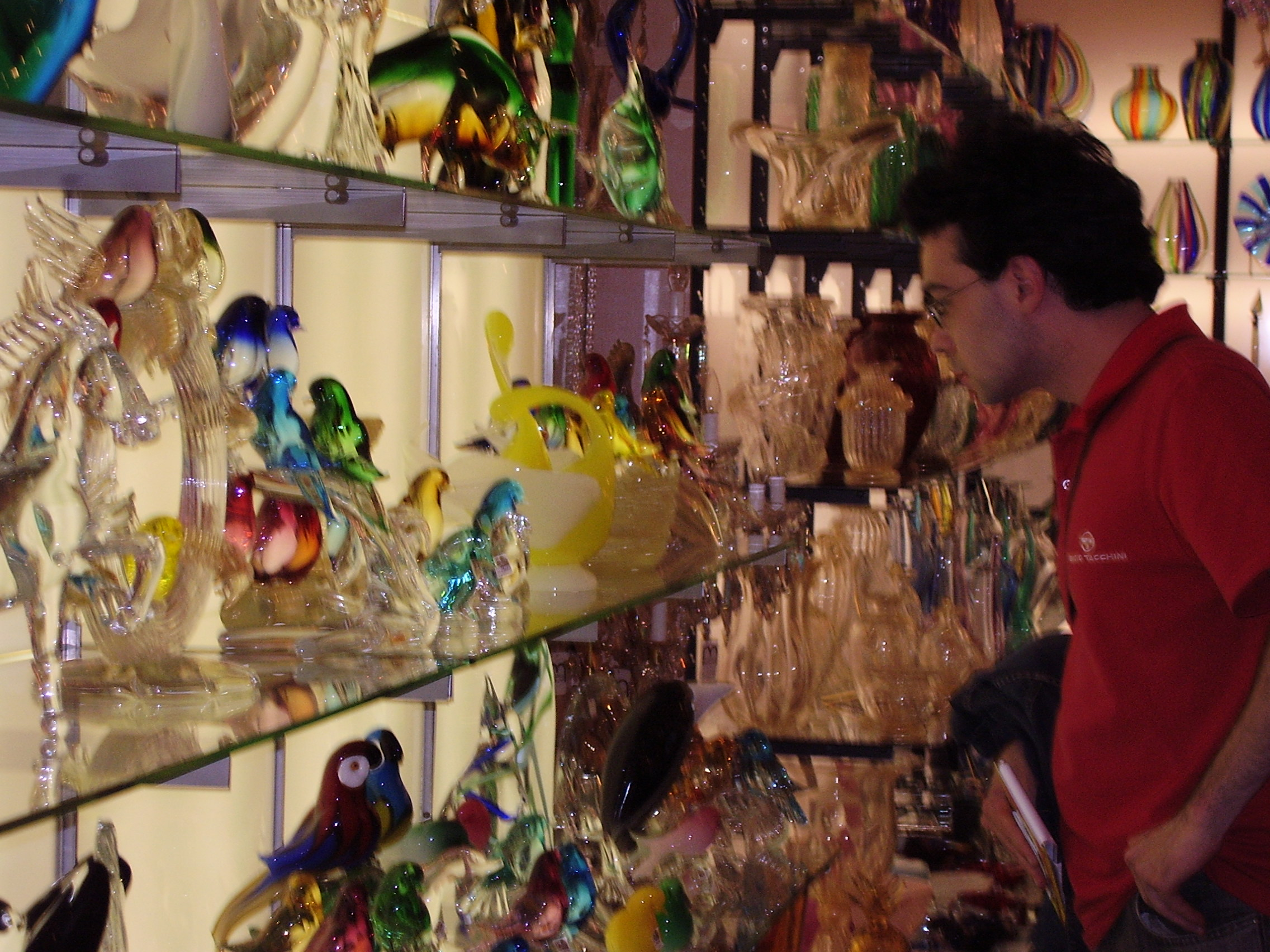 Murano - factory hand made - Adel Karanov private guide in Italy