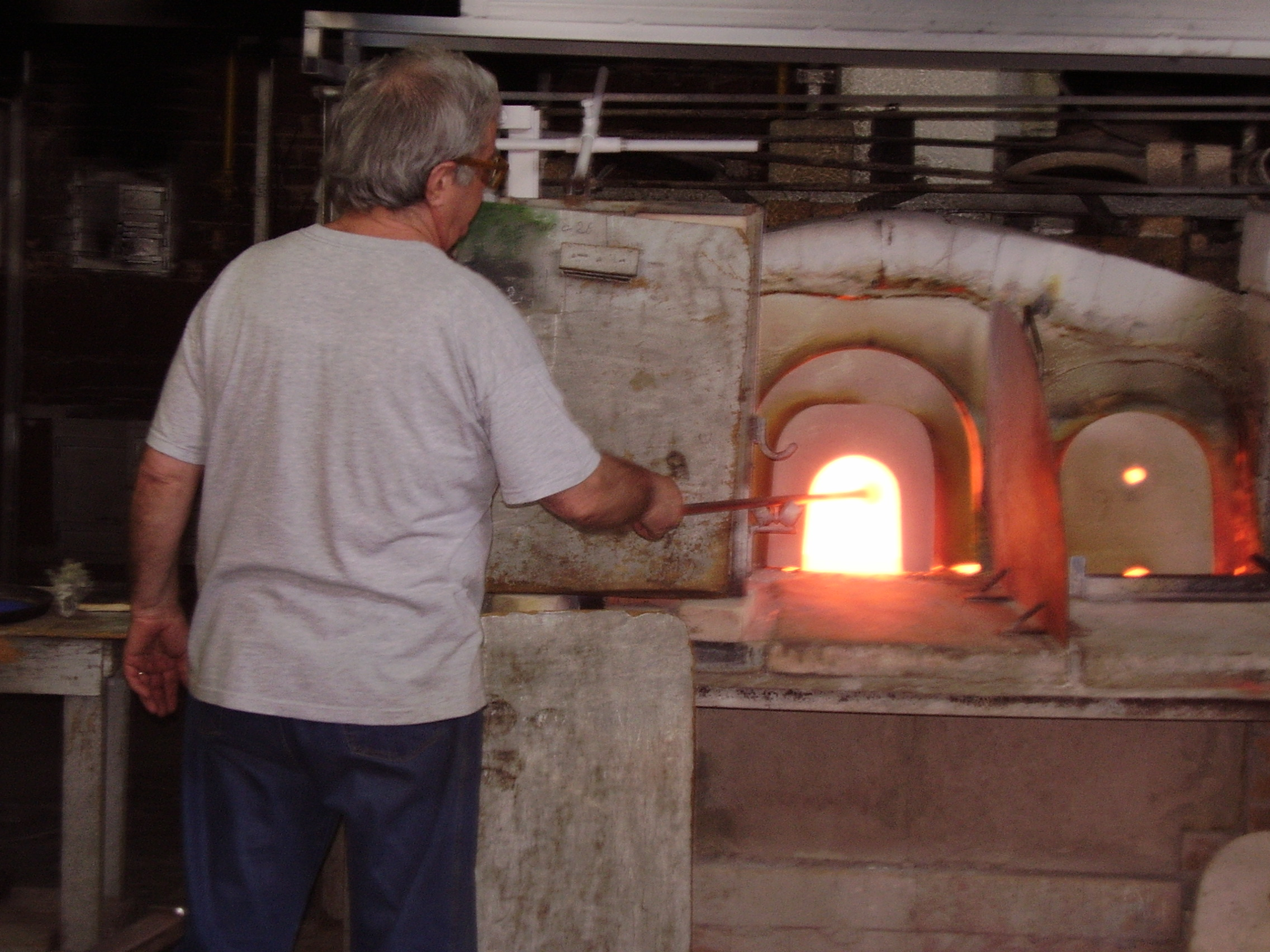 Murano - factory hand made creation from the beginning until the end