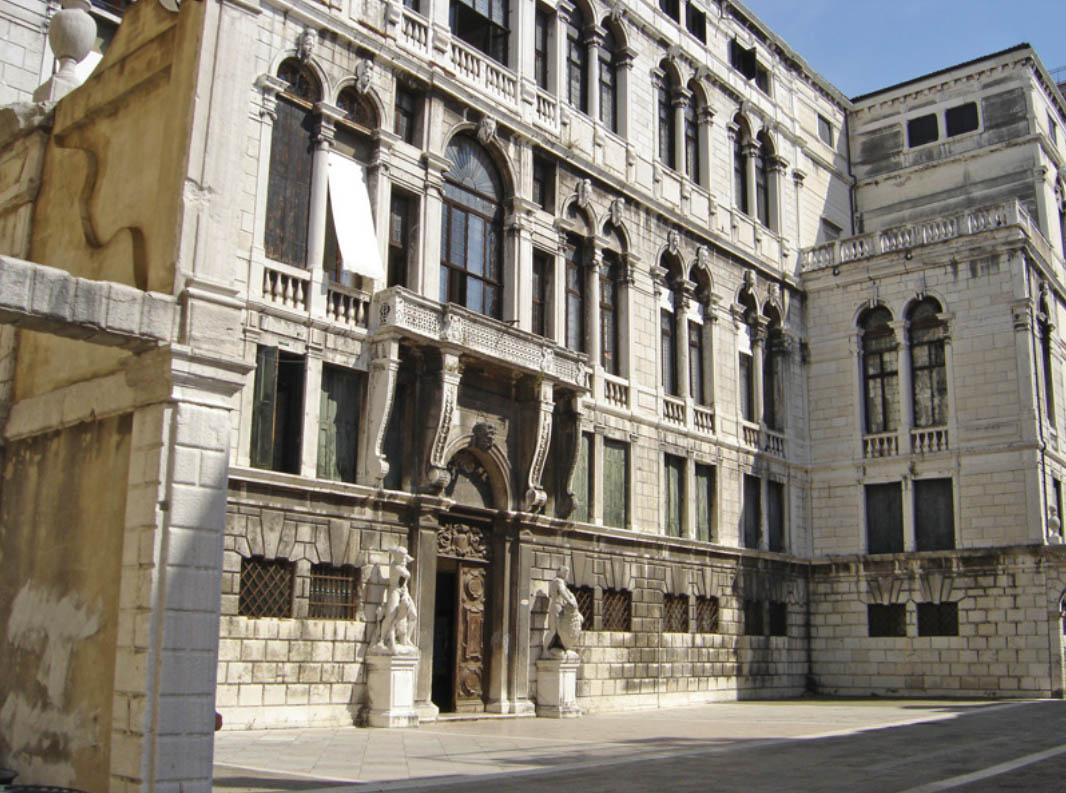 Palazzo Pisani di Santo Stefano- Music conservatory of Venice